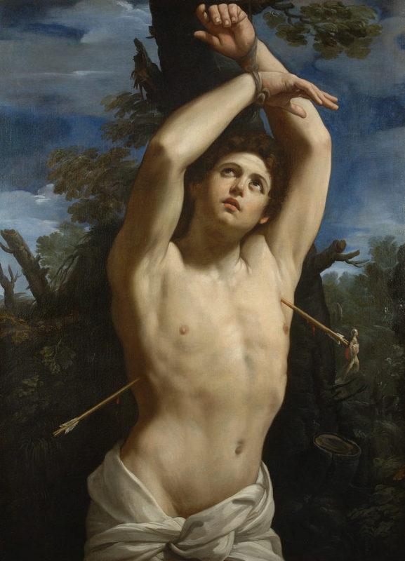Guido Reni, San Sebastiano, 1615
