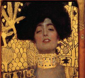 Gustav Klimt, Giuditta I, dettaglio, 1901