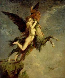 Gustave Moreau, La Chimera, 1867