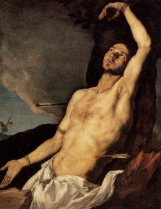 Jusepe De Ribera detto Lo Spagnoletto, San Sebastiano, 1651