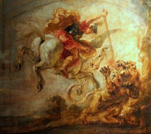 Pieter Paul Rubens, Bellerofonte abbatte la Chimera, 1635