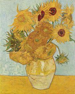 Vincent van Gogh, I girasoli, 1889