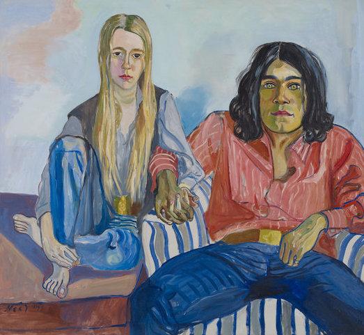 Alice Neel, Ian e Mary, 1971