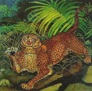 Antonio Liagbue, Leopardo, 1955