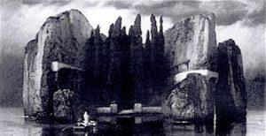 Arnold Böcklin, L'isola dei morti, quarta versione, 1884