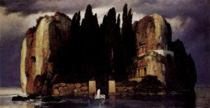 Arnold Böcklin, L'isola dei morti, quinta versione, 1886