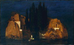 Arnold Böcklin, L'isola dei morti, seconda versione, 1880