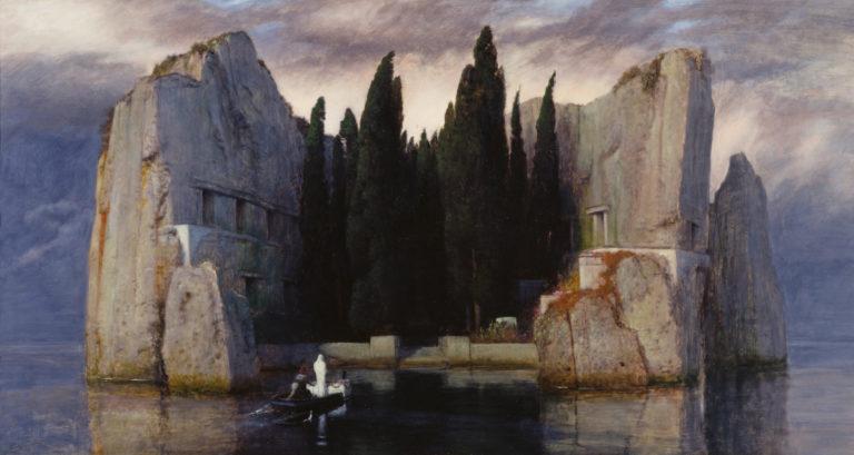 Arnold Böcklin, L'isola dei morti, terza versione, 1883
