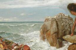 Arnold Böcklin, Odisseo e Polifemo, 1886
