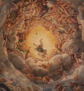 Correggio, Assunzione della Vergine, dettaglio, 1524-1530