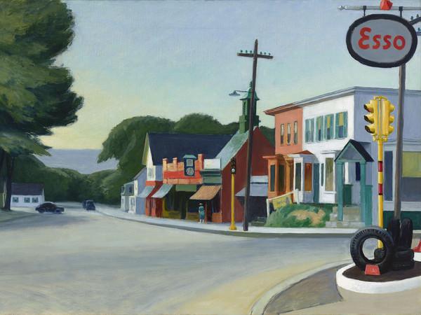 Edward Hopper, Ritratto di Orleans, 1950