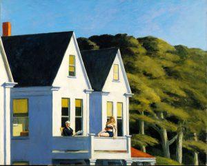 Edward Hopper, Secondo piano al sole, 1960