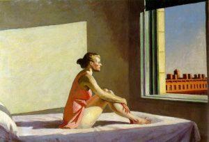 Edward Hopper, Sole di mattina, 1952