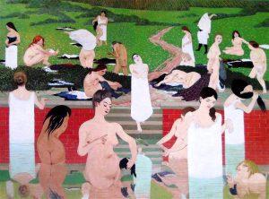 Félix Vallotton, L'estate o Il bagno, 1892