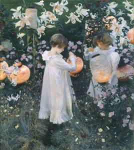 John Singer Sargent, Carnation, Lily, Lily, Rose 1885-1886