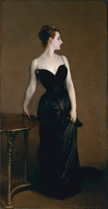John Singer Sargent, Ritratto di Madame X, 1883-1884