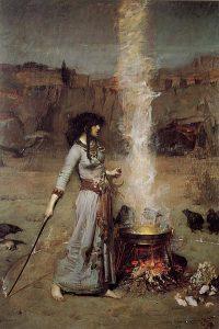 John William Waterhouse, Il cerchio magico, 1886