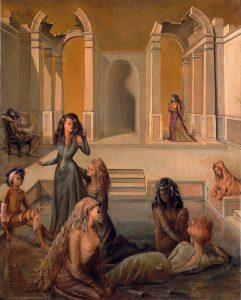 Leonor Fini, Da un giorno all'altro II, 1938