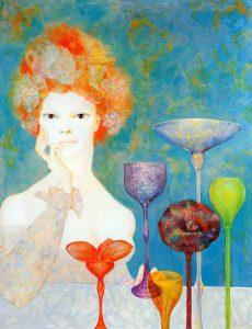Leonor Fini, La guardiana delle fonti, 1967
