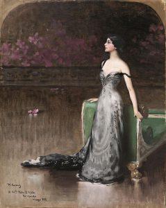 Matteo Corcos, Ritratto di Lina Cavalieri, 1902