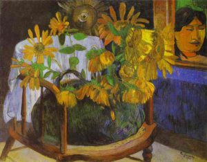 Paul Gauguin, Girasoli, 1901