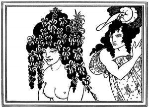 Aubrey Beardsley, Illustrazione per Lisistrata, 1896