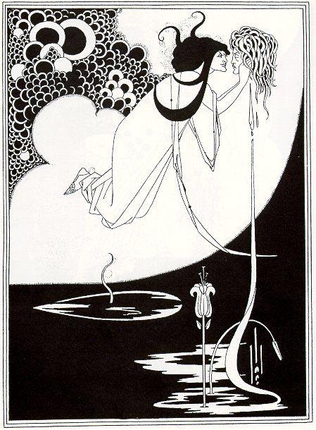 Aubrey Beardsley, Illustrazione per Salomè di Oscar Wilde, 1894