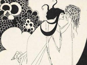 Aubrey Beardsley, Illustrazione per Salomè di Oscar Wilde, dettaglio, 1894