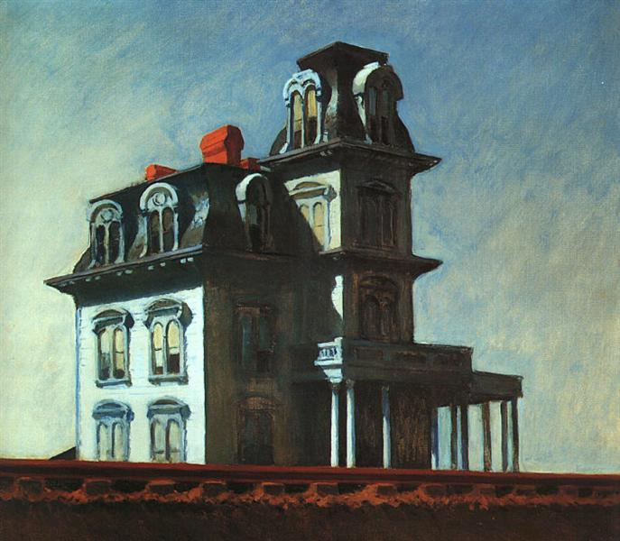 Edward Hopper, House by the railroad, 1925