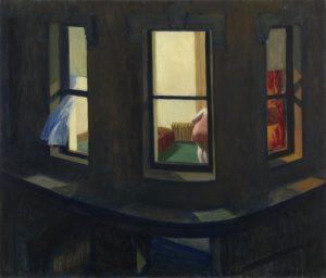 Edward Hopper, Night Windows, 1928