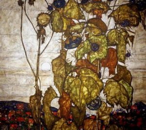 Egon Schiele, Sole d'autunno, 1914
