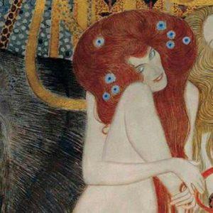 Gustav Klimt, Fregio di Beethoven, L'ostilità delle Forze avverse, dettaglio, 1902