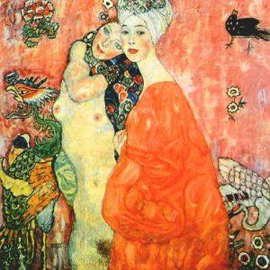 Gustav Klimt, Le amiche, 1916-1917