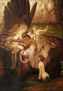 Herbert James Draper, Il lamento per Icaro, 1898