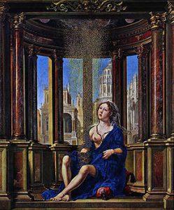Mabuse (Jan Gossaert), Danae, 1527