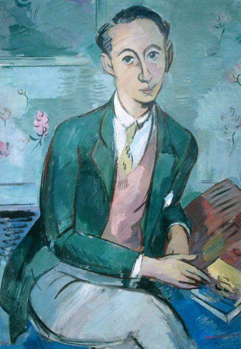 Paul Strecker, Ritratto di Christian Dior, 1928