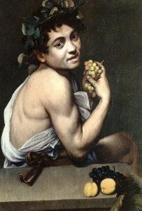 Caravaggio, Bacchino malato, 1593-1594