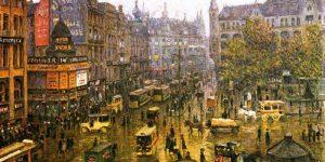 Paul Hoeniger, Spittelmarkt, 1912