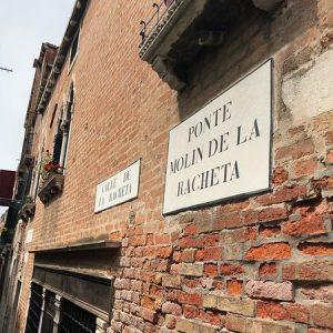 Ponte e calle de la Racheta, Venezia