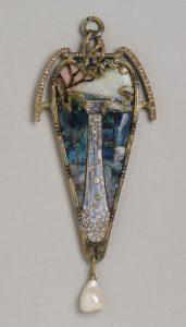Georges Fouquet, Pendente disegnato da Alfons Mucha