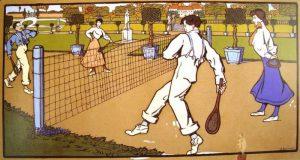 Umberto Boccioni, Partita a tennis, 1905