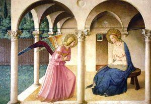 Beato Angelico, Annunciazione, 1440-1450