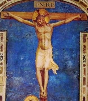 Beato Angelico, Crocifissione, dettaglio, 1442