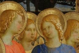 Beato Angelico, Pala di San Marco, dettaglio, 1438-1443