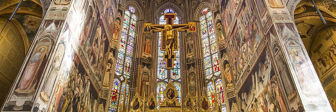 Chiesa di Santa Croce, dettaglio della Cappella Maggiore