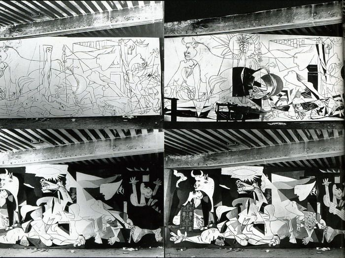 Dora Maar, Le varie fasi di Guernica, Parigi, 1937