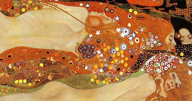 Gustav Klimt, Bisce d'acqua, 1904-1907