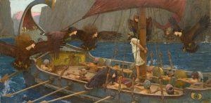 John William Waterhouse, Ulisse e le sirene, 1891