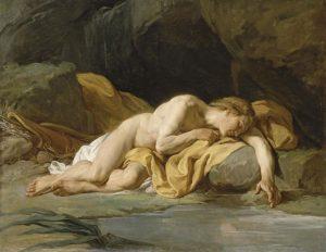Nicolas-Bernard Lépicié, Narciso, 1771