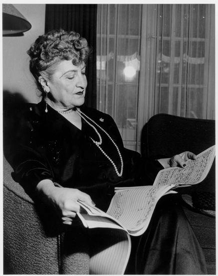 Ritratto di Alma Mahler, Beverly Hills, 1950